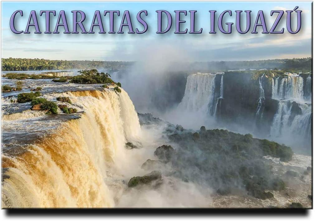 Iguazu Falls Fridge Magnet Argentina Brazil Travel Souvenir
