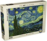 united states and canada puzzle - Eurographics Starry Night by Vincent Van Gogh 1000-Piece Puzzle