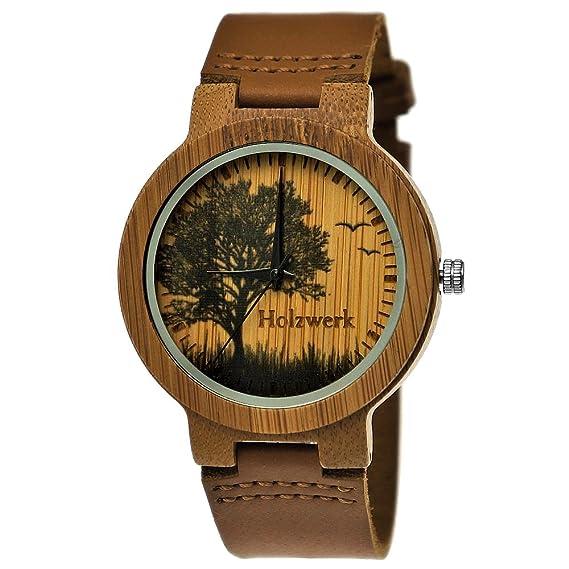 Hecha a mano de madera de Alemania® – Reloj de mujer – Reloj de hombre