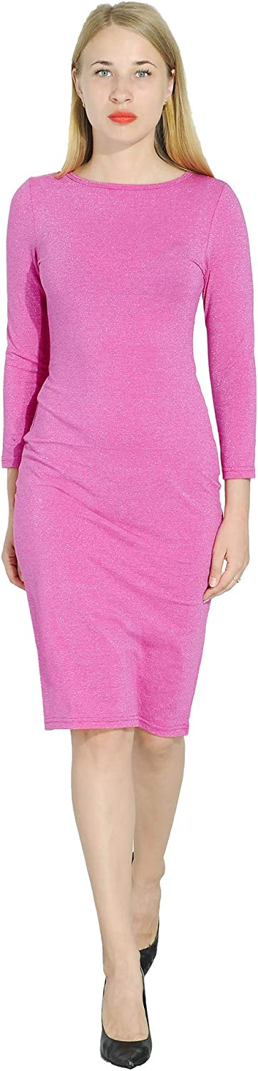 Marycrafts Womens Glitter Formal Cocktail Party Guest Dress