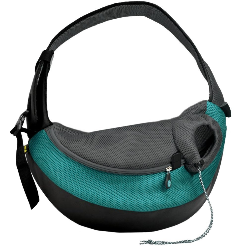 Wacky Paws Pet Sling, X-Large, Sea Breeze by Crazy Paws