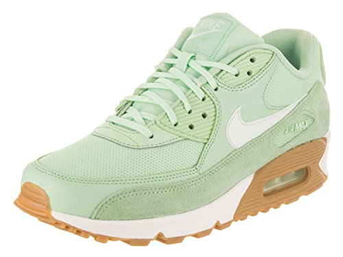 detailed look 66ef3 d6743 NIKE Women s Air Max 90 Running Shoe Fresh Mint Barely Green-Gum Light Brown
