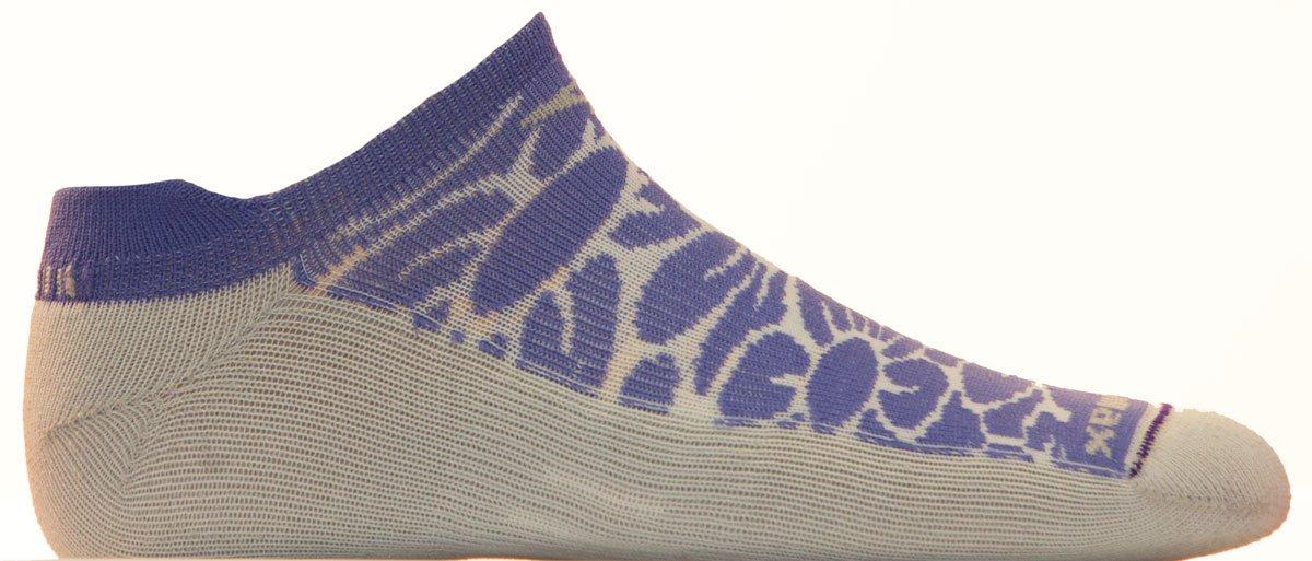 Drymax Running Lite Mesh No Show Tab, Floral Lilac/Grey, W10-12 / M8.5-10.5 by Drymax