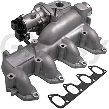 Amazon Com Egr Valve Egr Exhaust Gas Recirculation Manifold For