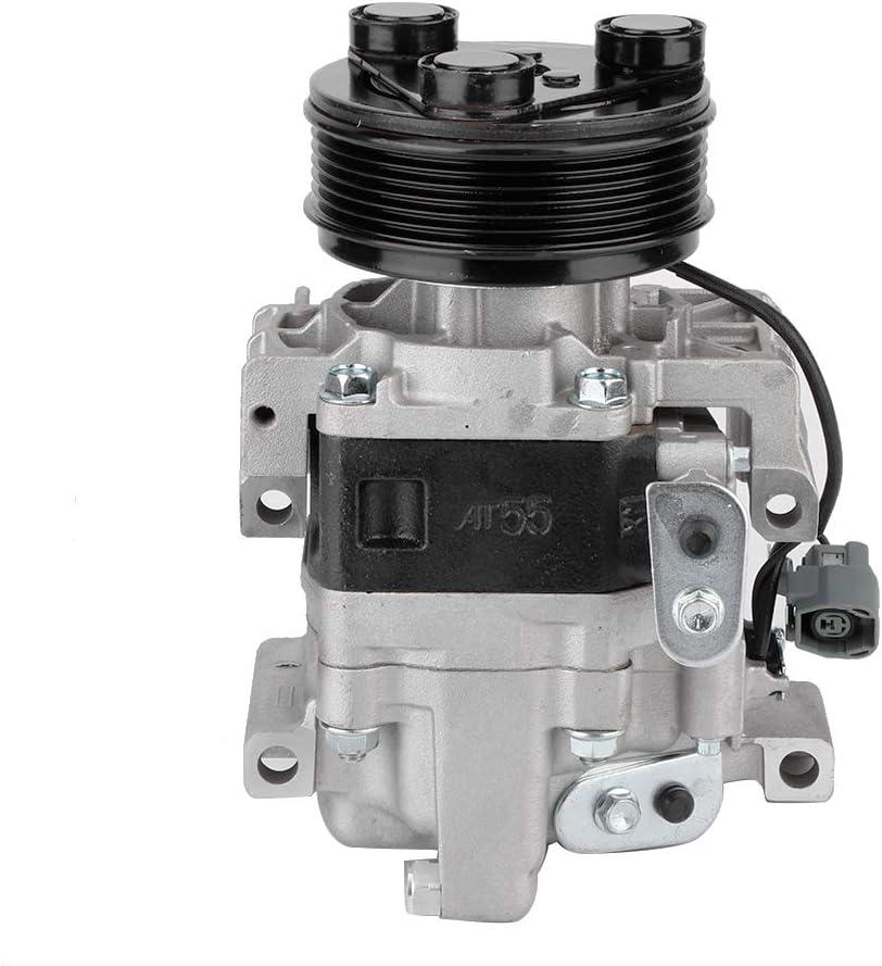 Qiilu CO24005C EG2161K00 EGY16145Z A//C Compressor Fit for 2007 2008 Mazda CX-7 2.3L Auto Repair Compressors Assembly