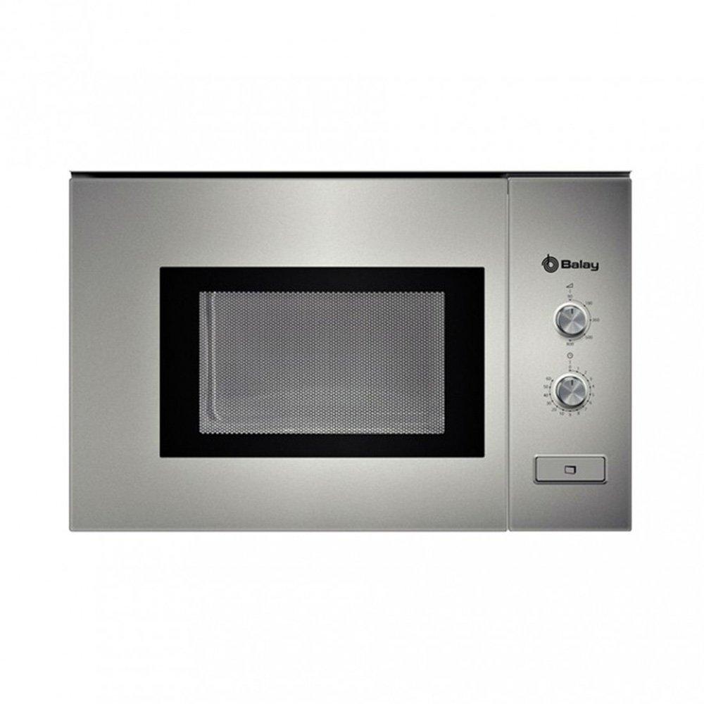 Balay 3WM360XIC - Horno Microondas 800 W, 20 l, color plata: Amazon.es: Hogar