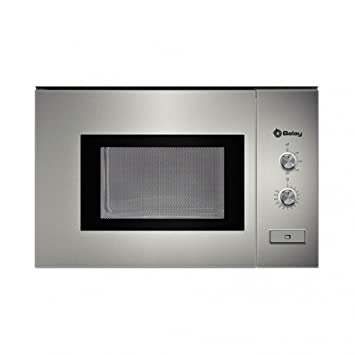 Balay 3WM360XIC - Horno Microondas 800 W, 20 l, color plata