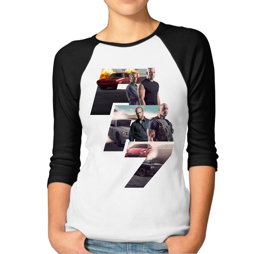 THE FAST AND THE FURIOUS 7 T SHIRT BNWT