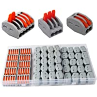 CESFONJER Terminales Conectores Reutilizables de conectores de tuercas