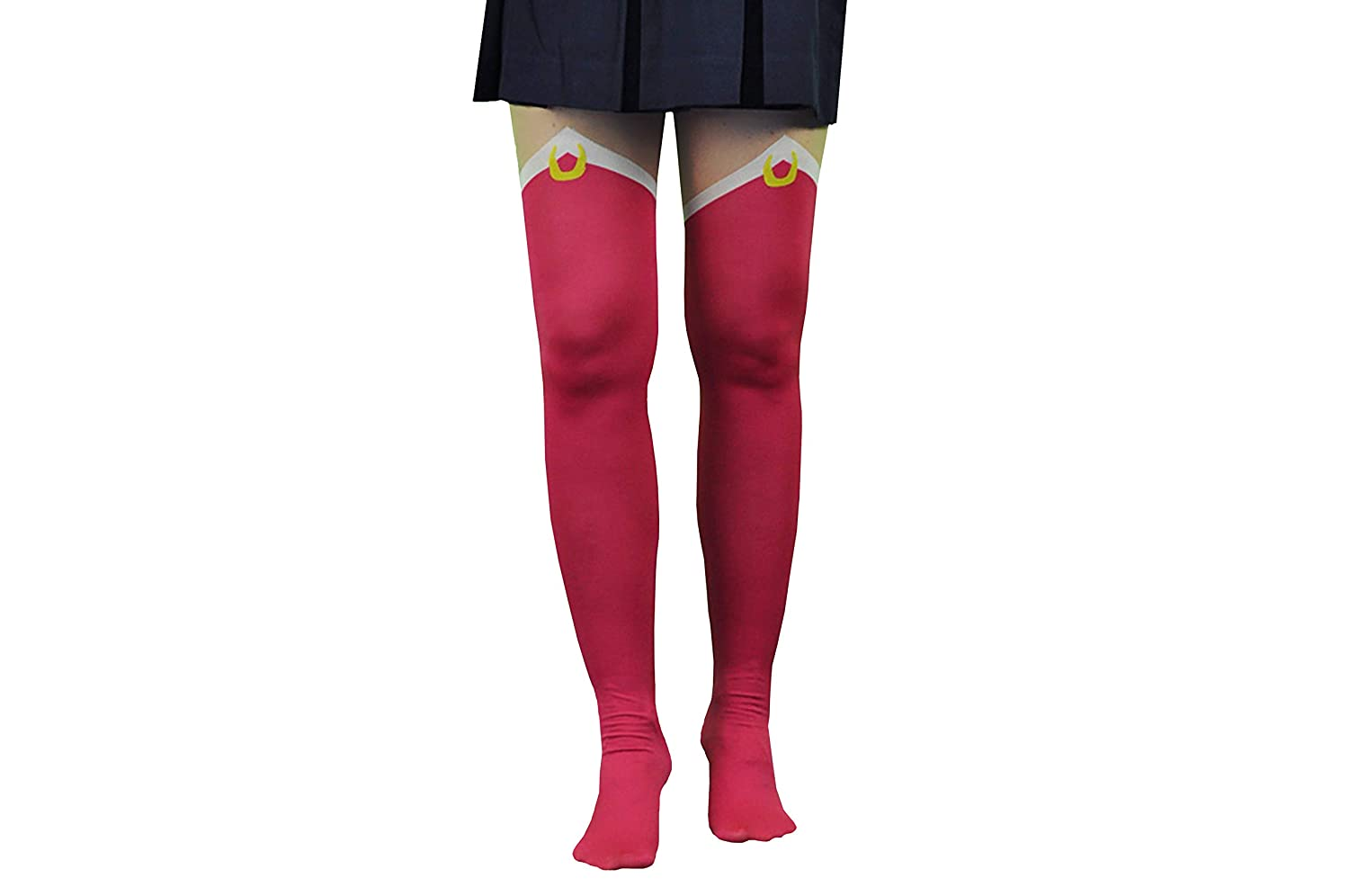 0566b9470b8e4 Amazon.com: Sailor Moon Tights & Socks Women & Girls (2 Pair) - Tights & Over  Knee Socks (S/M) - Sailor Moon Costume: Clothing