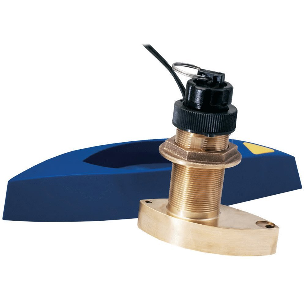Furuno 525STID-MSD 50/200Khz D/S/T Bronze Thru-Hull Transducer with 30 Meter Cable & 10 Pin Plug by Furuno