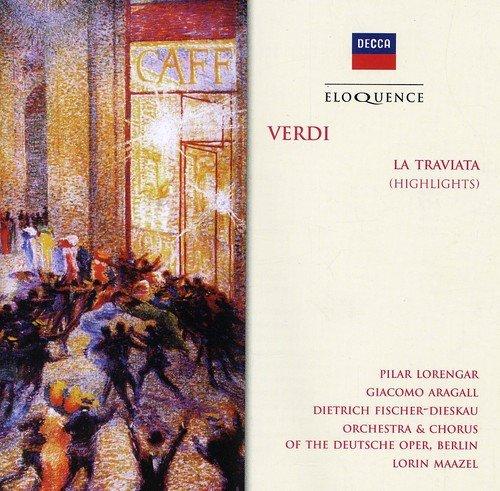 CD : Lorin Maazel - Verdi: Traviata (highlights) (CD)