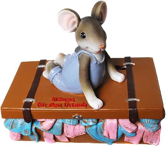 Vacaciones kasse, viaje, Hucha Ratones – Caja registradora para vacaciones