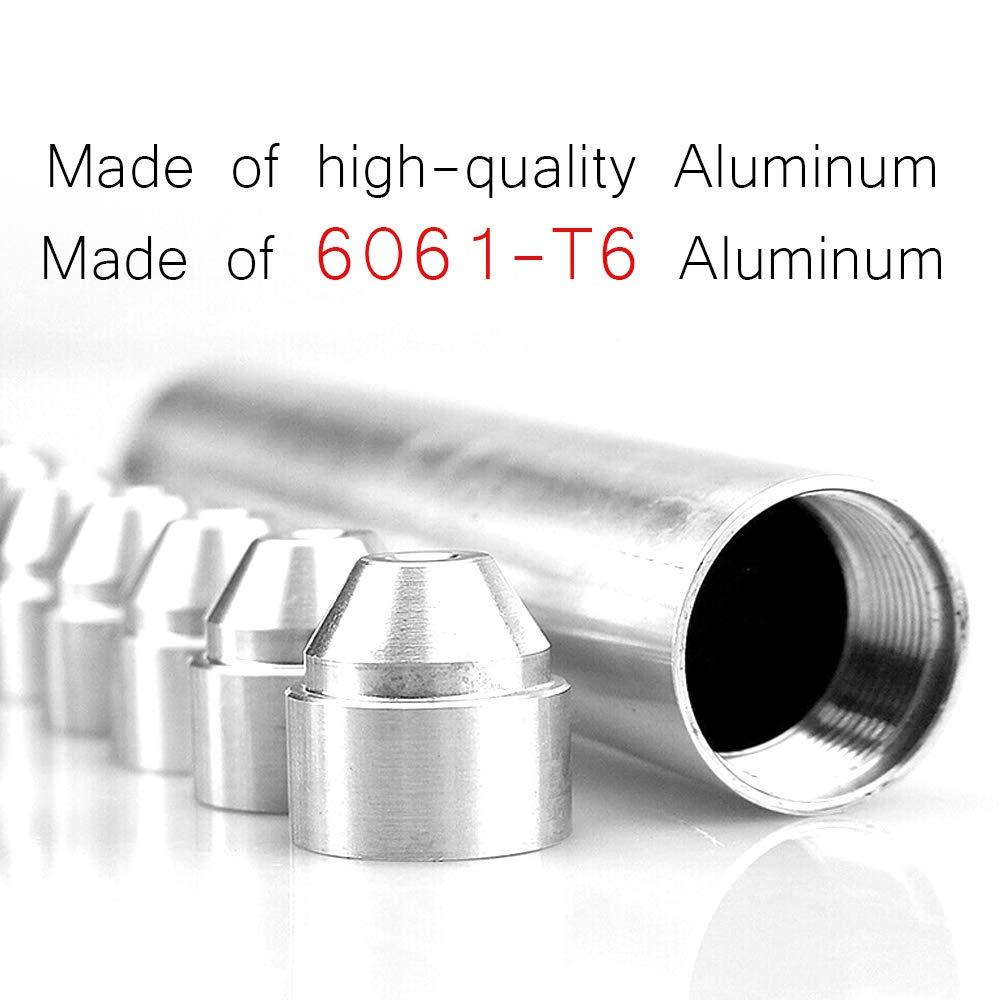 11 pz alluminio 1//2-28 5//8-24 filtro carburante auto 1x6 auto solvente trappola per NAPA 4003//WIX 24003
