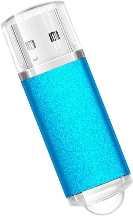 Chiavetta USB portatile da 128 GB//512 GB//1 TB//2 TB per archiviazione dei dati Blu 1 TB