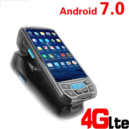 Wenhu Portátil de Mano inalámbrico Android PDA 2D Escáner de ...