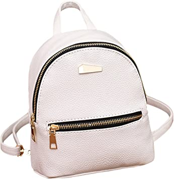 Unisex Girls Boys Backpack PU Leather//Polyester Rucksack Shoulder School Bag