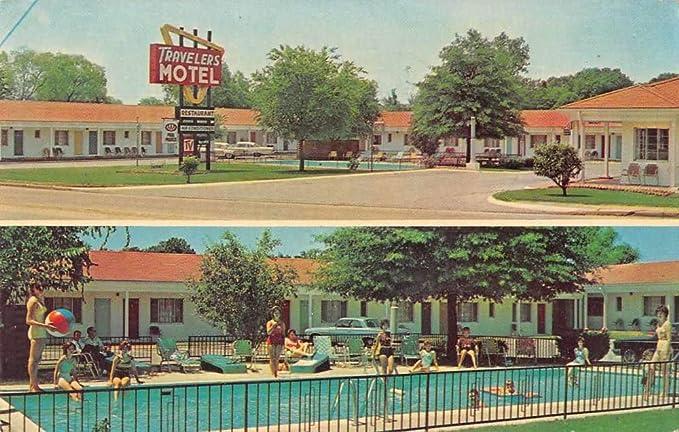 Tupelo Mississippi Travelers Motel Swimming Pool Vintage ...