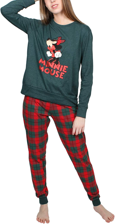 Disney Pijama Manga Larga Winter Mouse para Mujer