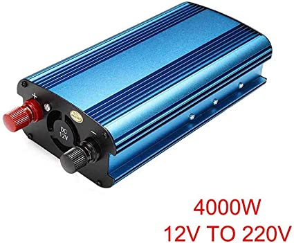 24V para convertidor de Onda sinusoidal modificada AC 220V Dastrues Inversor de energ/ía Solar para autom/óvil 3000W 4000W DC 12