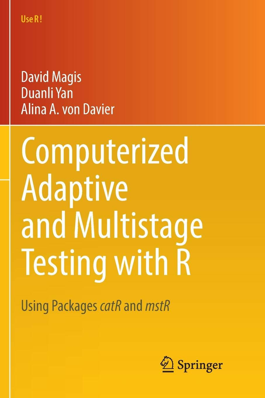 Computerized Adaptive and Multistage Testing with R: Using ...
