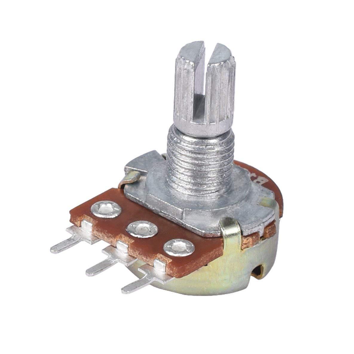 Noradtjcca 10 PZ WH148 Pot B10K 10 K Lineare Potenziometro Albero 15mm 3 Pin di Alta qualit/à