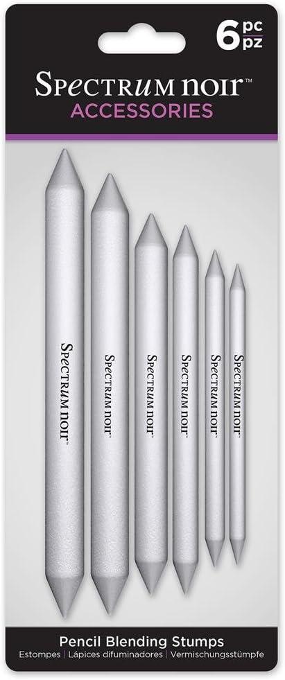 Spectrum Noir Pencil Blending Stumps, Grey