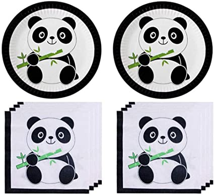 Amazon Com Panda Baby Themed Party Supplies Zhjdongtuo Panda