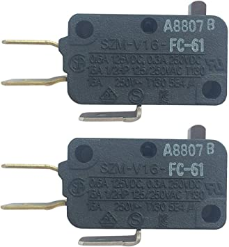 SZM-V16-FC-61 Microinterruptor de repuesto para microondas para ...