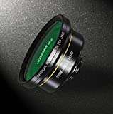 Super Wide Angle & Macro Lens with Filter for Smartphone, iPhone, Samsung. Professional Photographer Smartphone Camera Lens. Premium Quality Smartphone Lens. Smartphone Photo Taking Lens