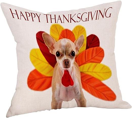 """18/""""*18/"""" Bread Puppies Cotton Linen Throw Pillow Case Cushion Cover Home Decor"""