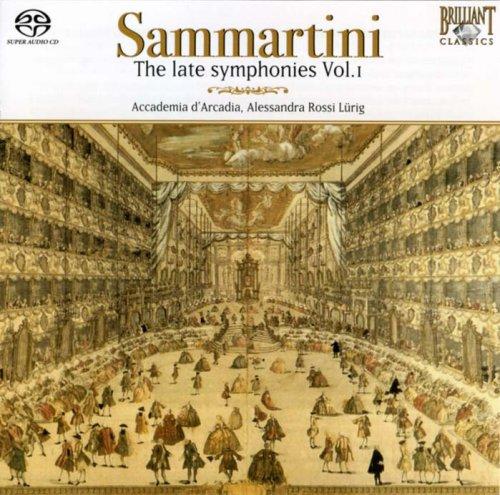 Sammartini: Late Symphonies Finally popular brand free shipping Vol 1