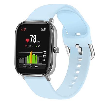 Shelily Compatible con Reloj amazfit bip-GTS Correa de Reloj de ...