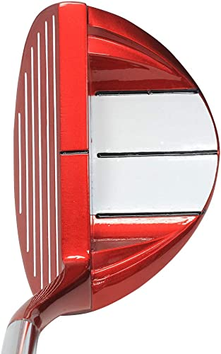Right Handed Men's Money Club 37 Fire Red Golf Chipper Save Easy Stroke