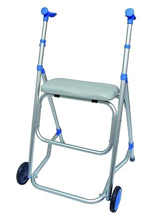 Andador plegable de aluminio con asiento - modelo Anota 514 ...