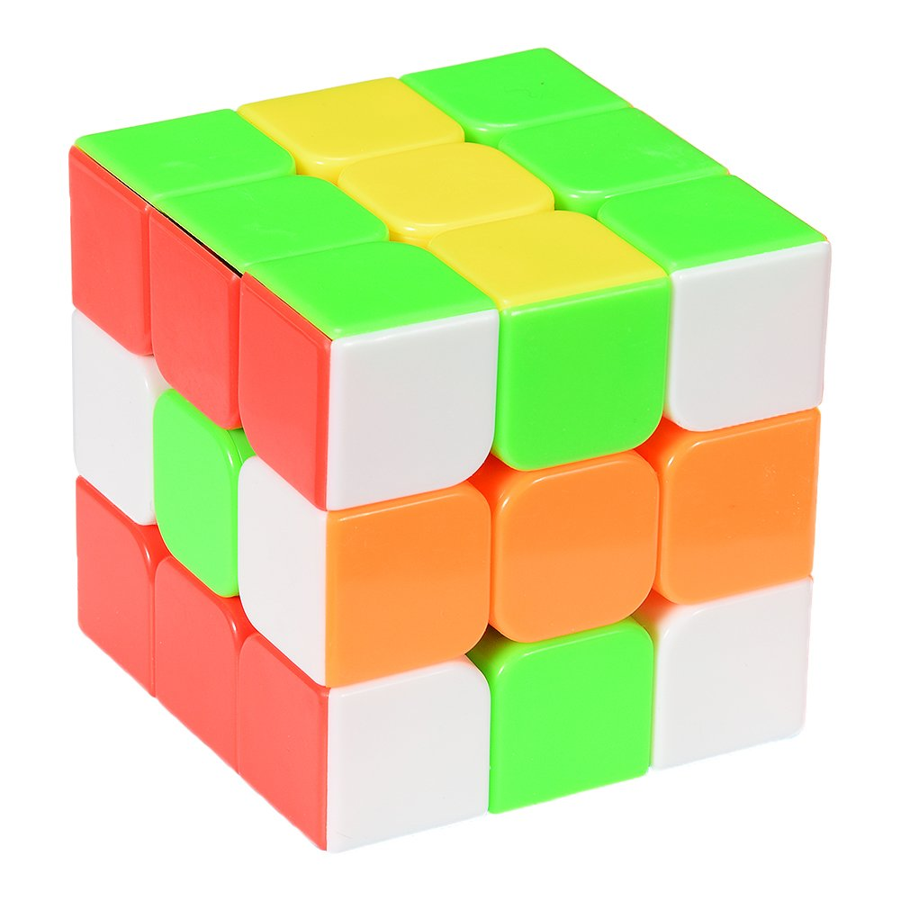 YJ Yulong Smooth Stickerless Speed Cube Puzzle, 56mm