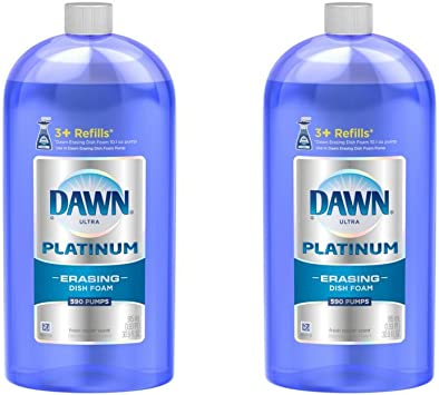 Amazon.com: Dawn Platinum borrado Recambio de espuma ...