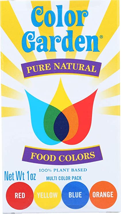 2a918c9e92 Amazon.com: (1 Item ONLY) Pure Natural Food Color Single Box 4 ...