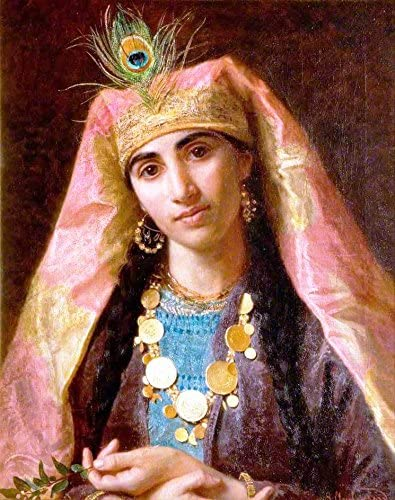 Amazon Com Scheherazade By Sophie Anderson 16 X 20 Premium Canvas Print Posters Prints Sophie anderson   sophie anderson travel the world follow your dreams protect the world you play in sophieanderson911@gmail.com. scheherazade by sophie anderson