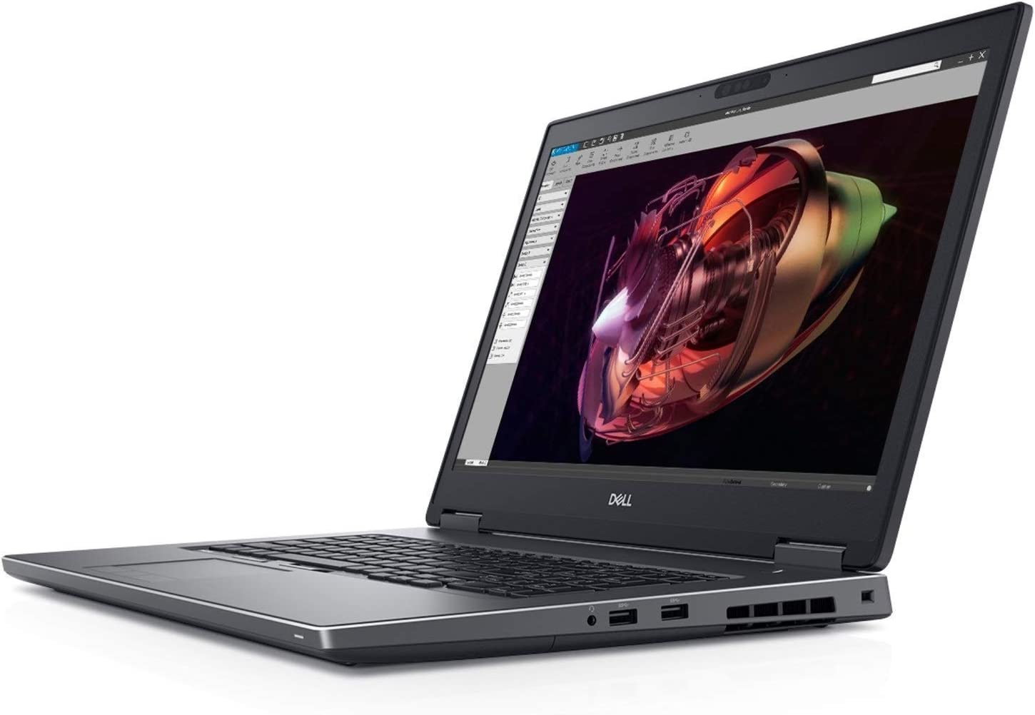 "Dell Precision 7730 The World's Most Powerful 17"" Mobile Workstation with Intel i9 6 Core 17.3"" UltraSharp 4K IGZO 3840x2160 AG Display