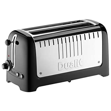 Dualit 2-slot long lite toaster playing trips poker