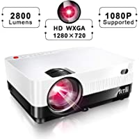 ARTlii US-H3 720p 2800-Lumens LED Home Theater Projector