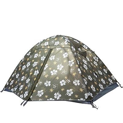 équipement de plein air alpinisme en plein air Camping coupe-vent respirant Tube en aluminium Double superposé Tente de camping