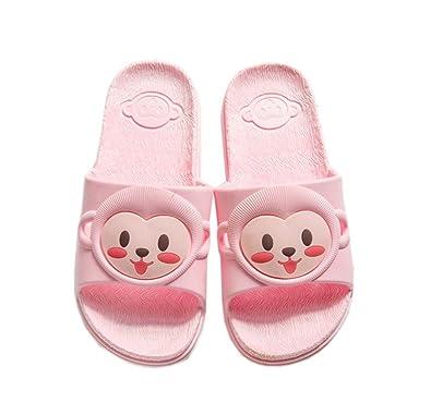 Vokamara Mädchen Affe Skidproof Pantoffeln Pool Beach Slide Sandalen Indoor Bad Hausschuhe Pink 18 Wz3viOa7pv
