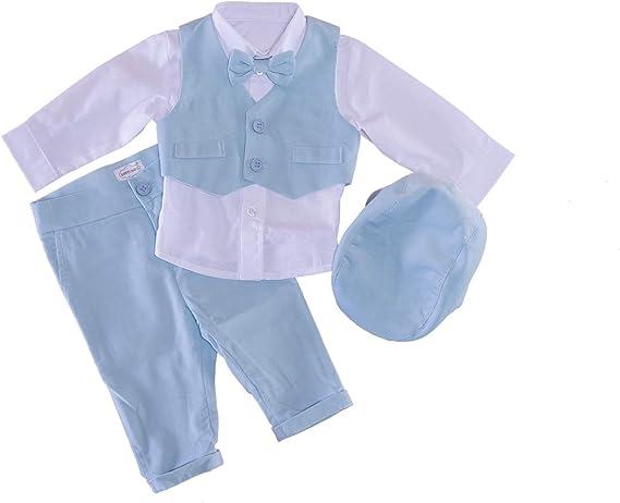 Sixforkids - Ropa de Bautizo - para bebé niño: Amazon.es: Ropa y ...