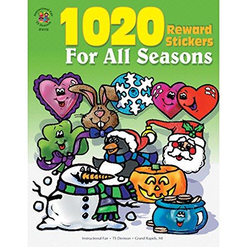 Carson-Dellosa IF-4110 Reward Sticker for All Seasons (Pack of 1020)