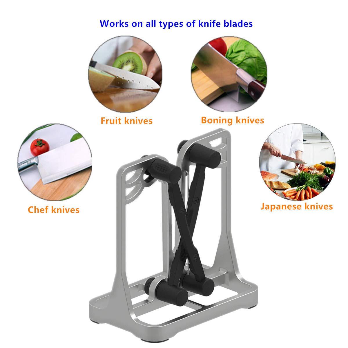 Amazon.com: Ehoyal - Afilador para cuchillos de cocina ...