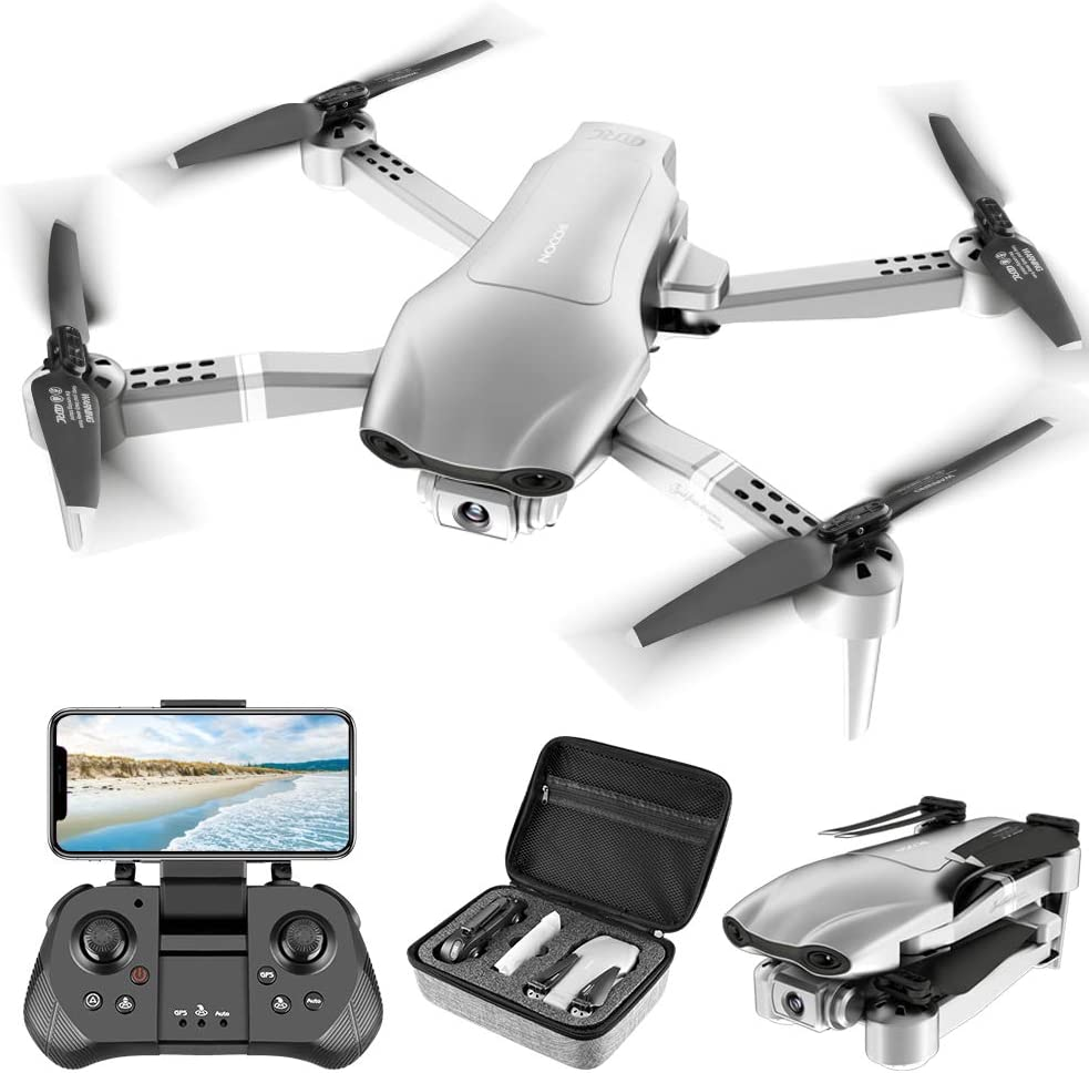 FPV Drone With Camera Live Video 1080P HD For Adults Beginners 4K RC Quadcopter