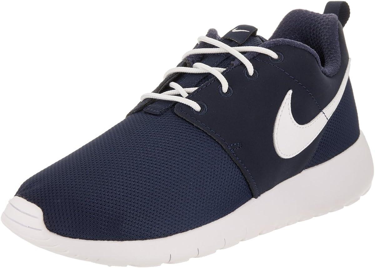 Nike Roshe One Midnight Navy//White Big Kids Running Shoes 599728-416 GS