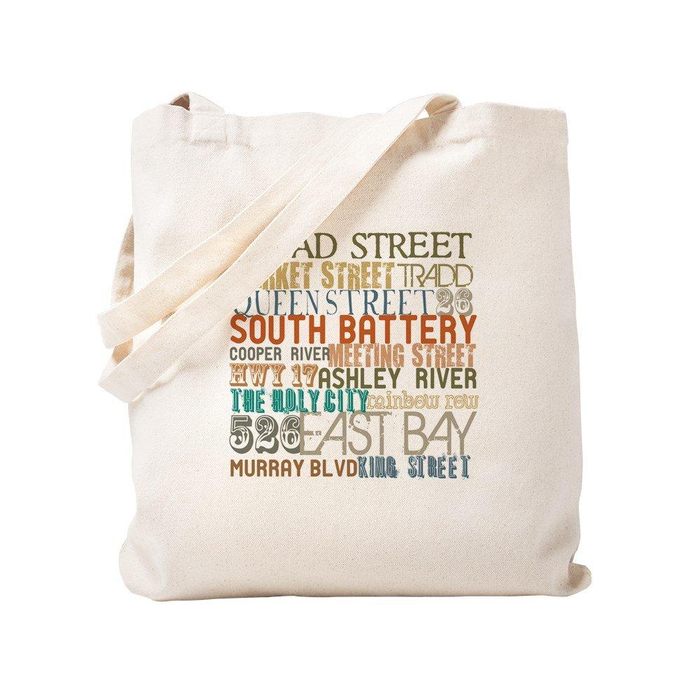 CafePress – チャールストン、SC – ナチュラルキャンバストートバッグ、布ショッピングバッグ S ベージュ 0363161133DECC2 B0773TPW42 S